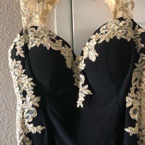 Beautiful Black Ball Gown